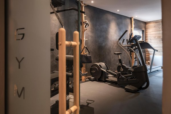 Photo of the fitness area Hotel Chalet S Dolomites