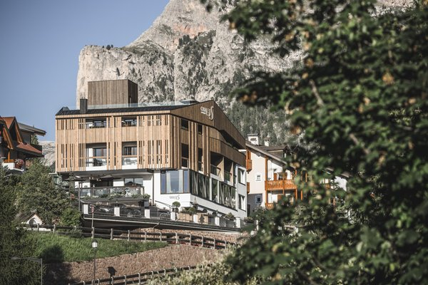 Photo exteriors in summer Chalet S Dolomites