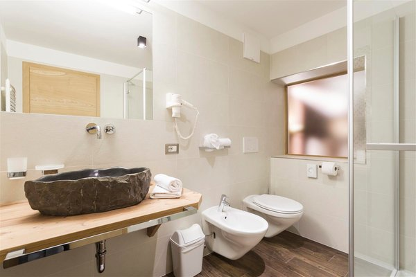 Foto del bagno Hotel Jägerheim