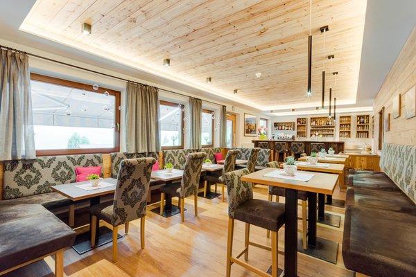 Il ristorante Selva Gardena Jägerheim
