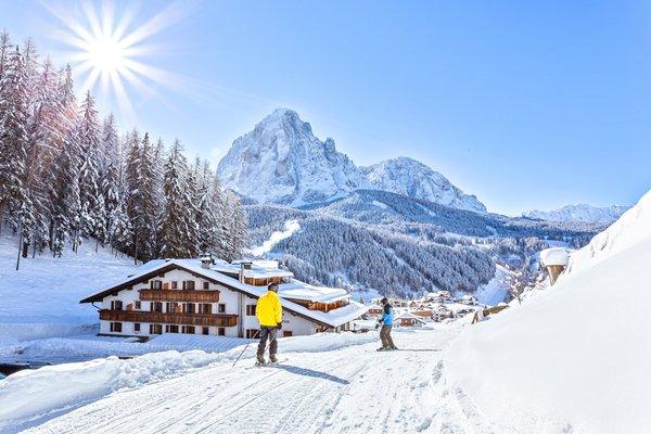 Foto invernale di presentazione Hotel Jägerheim