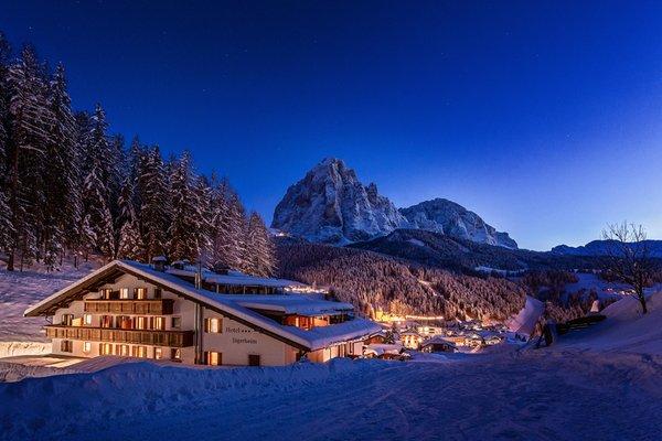 Foto esterno in inverno Jägerheim