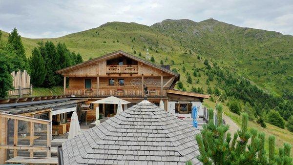 Summer presentation photo Mountain hut Gallo Cedrone / Hahnspielhütte