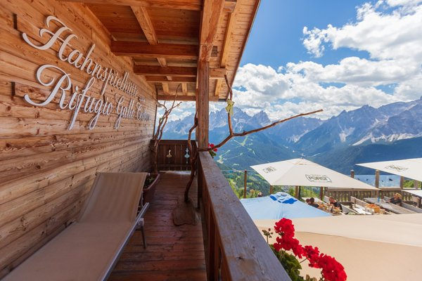 Photo of the balcony Gallo Cedrone / Hahnspielhütte