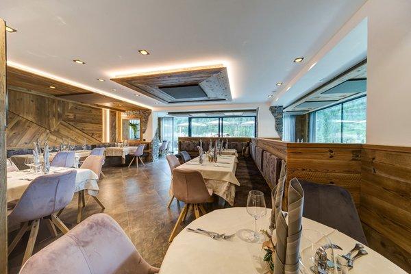 The restaurant Selva Gardena / Wolkenstein Muliac