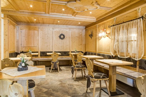 Il ristorante Selva Gardena Muliac