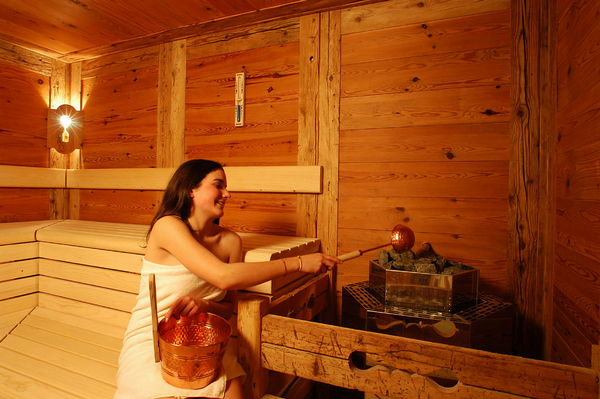 Foto della sauna Corvara