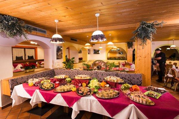 Il ristorante Selva Gardena Alpin Haus