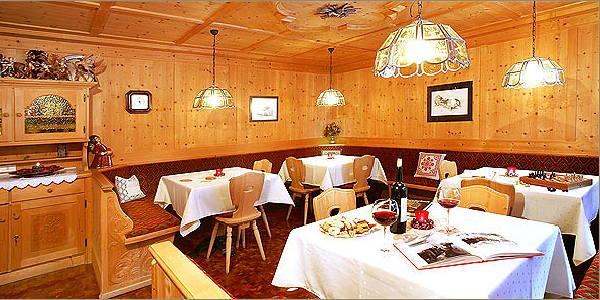 Il ristorante Selva Gardena Horizont