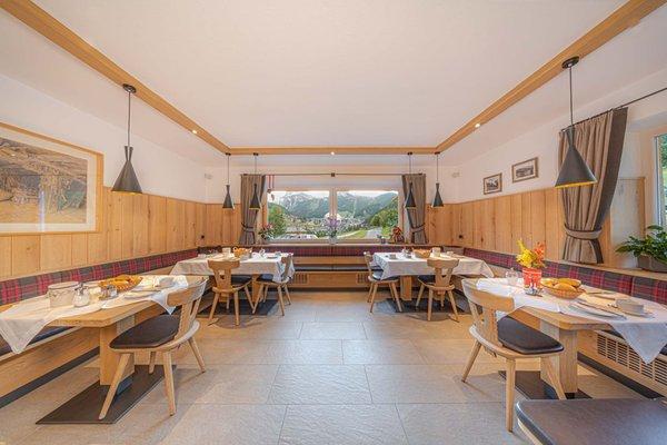 Il ristorante Selva Gardena Martlhof