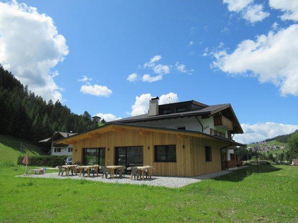 Foto estiva di presentazione Chalet Dumbria Dolomites