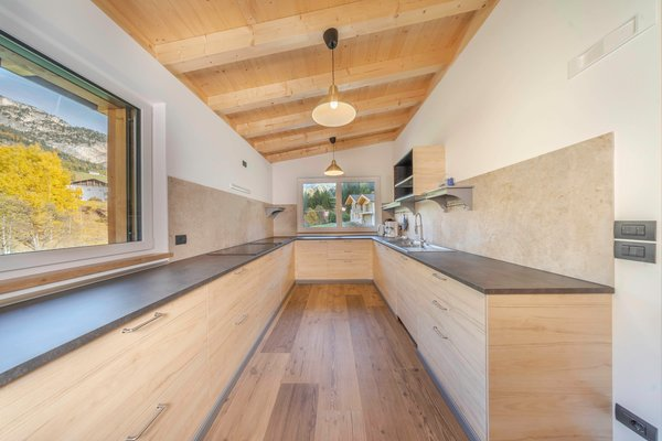 Foto della cucina Chalet Dumbria Dolomites
