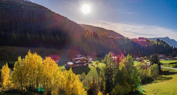 La posizione Chalet Dumbria Dolomites Selva Gardena