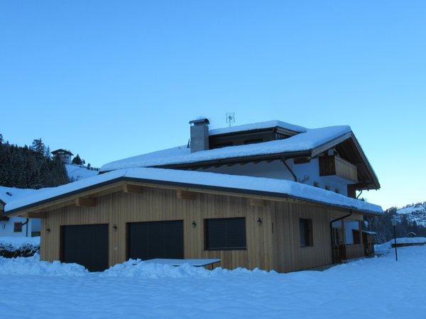 Foto invernale di presentazione Chalet Dumbria Dolomites