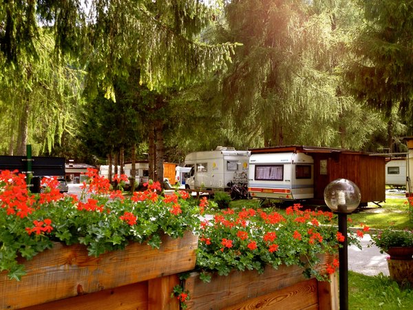 Foto esterno in estate International Camping Olympia
