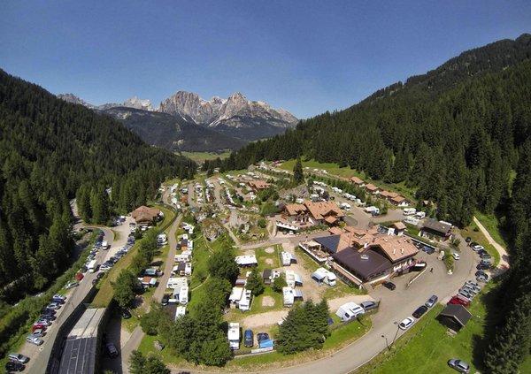 Foto estiva di presentazione Camping Vidor - Family & Wellness Resort - Campeggio