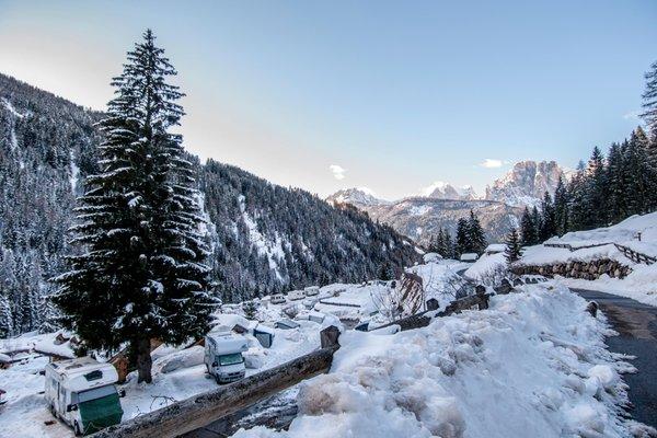 Foto invernale di presentazione Camping Vidor - Family & Wellness Resort - Campeggio