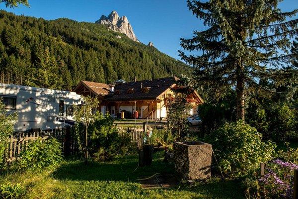 Foto esterno in estate Catinaccio Rosengarten