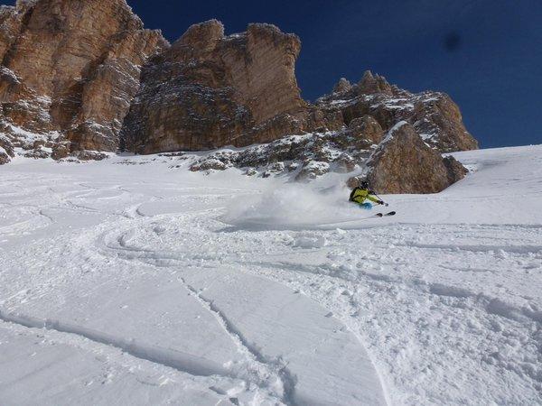 Foto invernale di presentazione Gardena Guides - Associazione Guide Alpine Val Gardena - Guide alpine