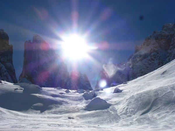Foto esterno in inverno Gardena Guides - Associazione Guide Alpine Val Gardena