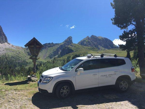 Foto di alcuni dettagli Cortina Dolomiti Contac Service