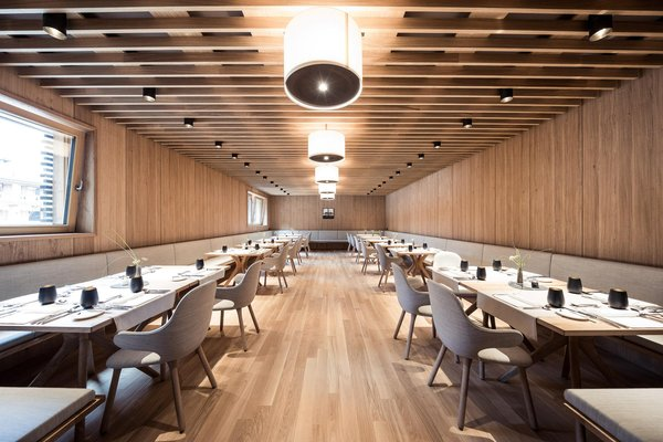 The restaurant Castelrotto / Kastelruth Lamm