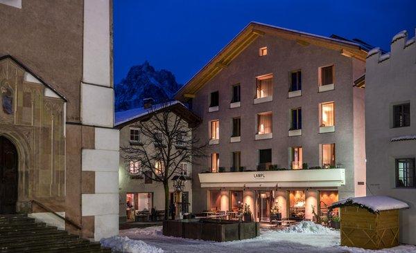 Foto invernale di presentazione Hotel Lamm