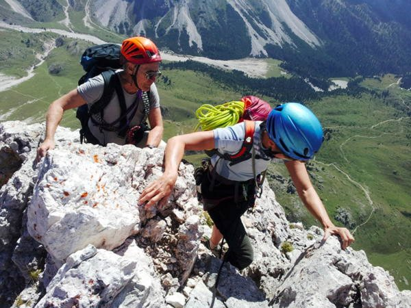 Summer presentation photo Mountain guides Arc Alpin Travel