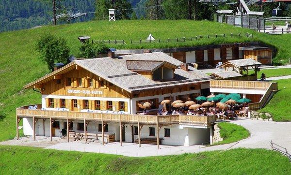 Photo exteriors in summer Mountain hut Rudi Hütte