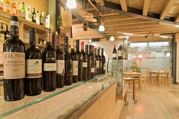 Il ristorante Val di Zoldo - Forno Tana del Ors