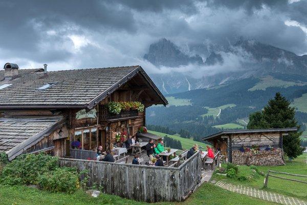 Foto Außenansicht im Sommer Rauchhütte