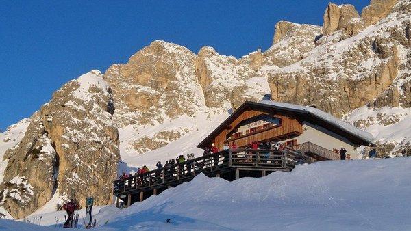 Winter Präsentationsbild Berghütte Duca d'Aosta