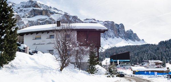 Foto esterno in inverno Chalet Albric