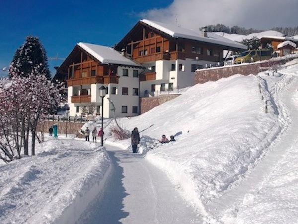 Foto invernale di presentazione Residence Ariola
