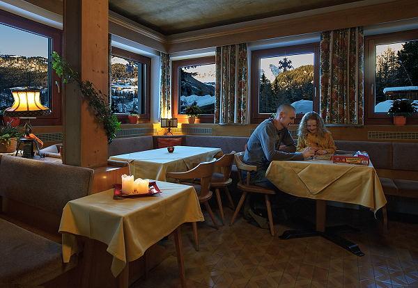 Il ristorante Selva Gardena Bruna