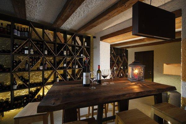 La cantina dei vini Corvara Col Alto