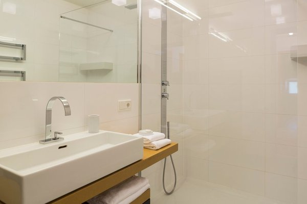 Foto del bagno Residence Luzerna
