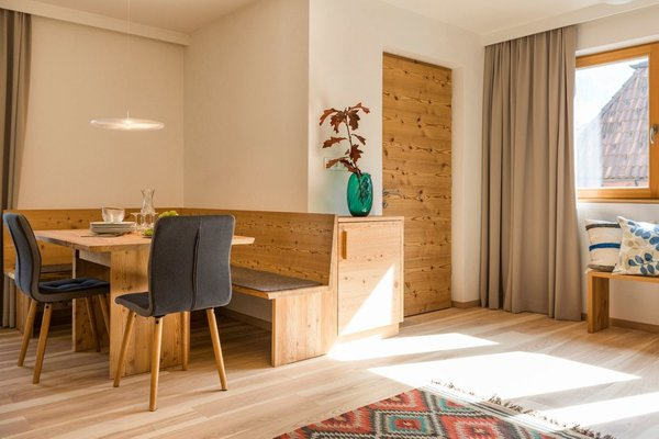La zona giorno Luzerna - Residence 3 stelle