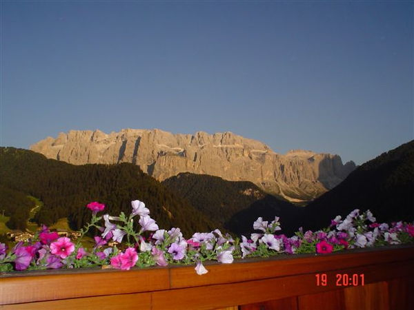 Panorama Selva Gardena