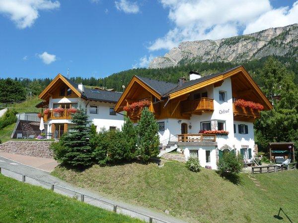 Foto estiva di presentazione Appartamenti Edelraut