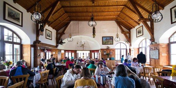 Il ristorante Selva Gardena Forelle