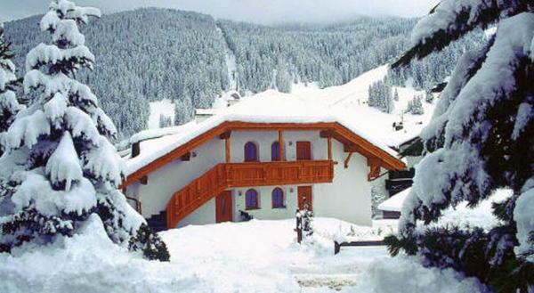 Foto invernale di presentazione Appartamenti Grohmann