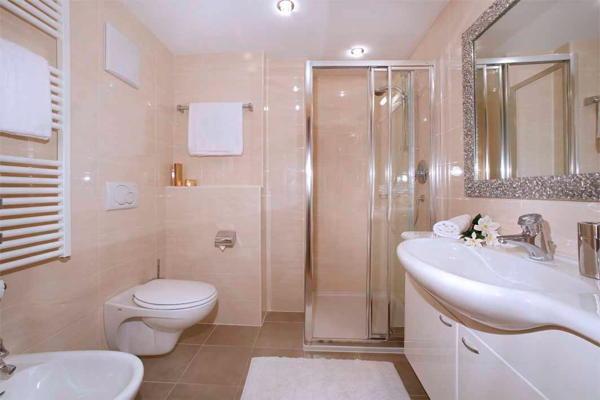 Foto del bagno Appartamenti Grohmann