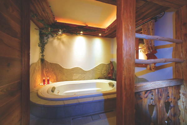 Foto del bagno Appartamenti Gutonhof