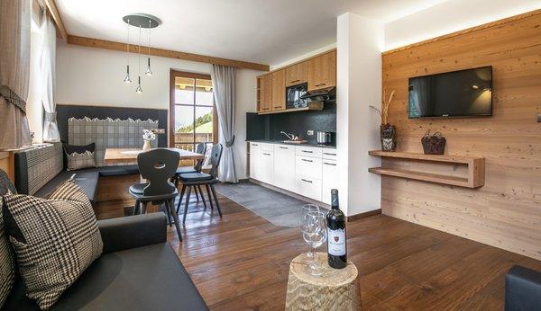 The living area Farmhouse apartments Gutonhof