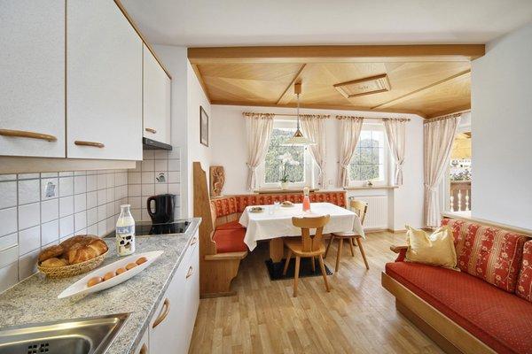 La zona giorno Appartamenti in agriturismo Neuhaus