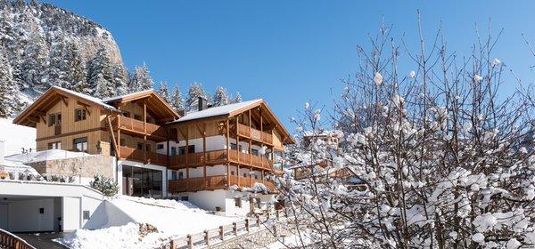Foto invernale di presentazione Appartamenti Villa Solinda