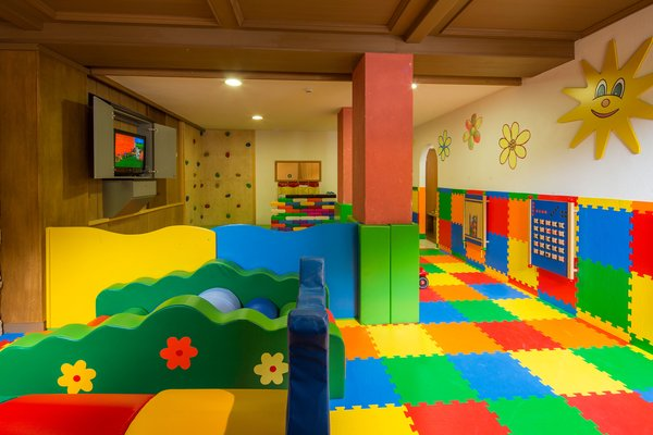 The children's play room Hotel Cristallo