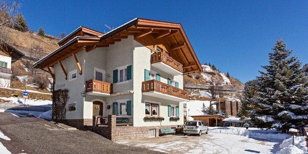 Foto invernale di presentazione Appartamento Pivan