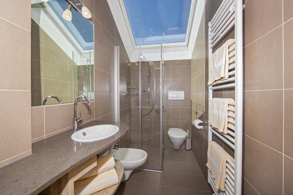Foto del bagno Appartamento Puez